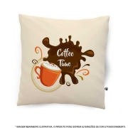 Almofada Coffe Time