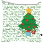 Almofada Feliz Natal Árvore