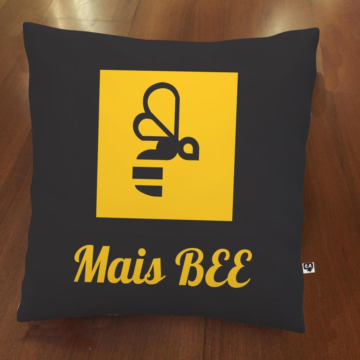 Almofada Mais Bee - Preta