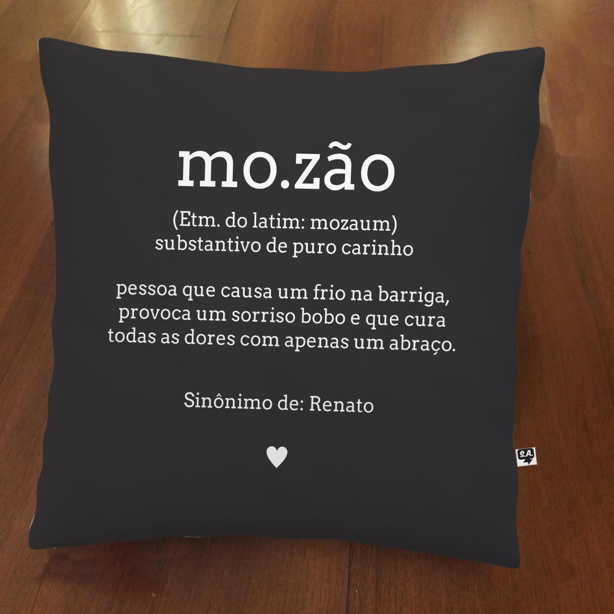 Almofada Mozão - Preta