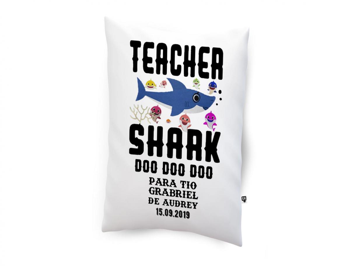 Almofadinha - Teacher Shark