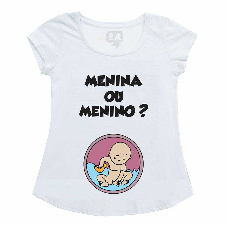 55f1c59cf2 Bata Gestante Menino ou Menina na Camiseteria S.A.
