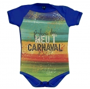 Body Meu 1º Carnaval - Azul