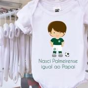 Body Nasci Palmeirense Igual Ao Papai