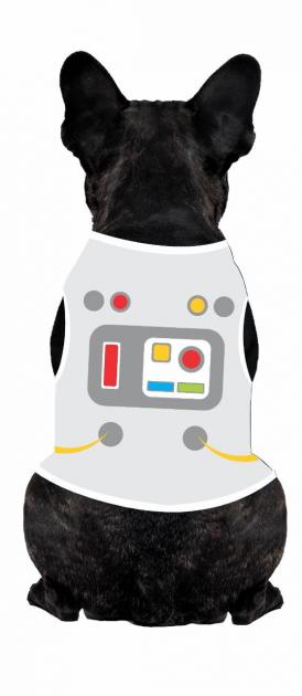 Body Para Cachorro Astronauta