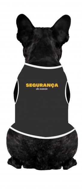 Body Para Cachorro Segurança
