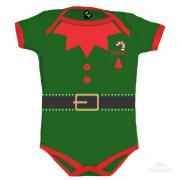 Body Temático De Natal -  Ajudante Do Papai Noel