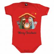 Body Temático De Natal -Merry Christmas