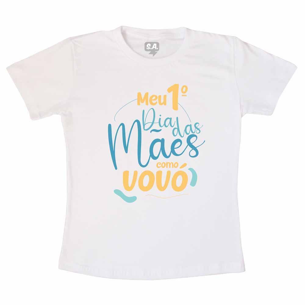 Camiseta 1º Dias Das Mães Com A Vovó