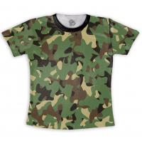 Camiseta Adulta Camuflada