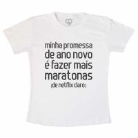Camiseta Adulta Mais Maratonas