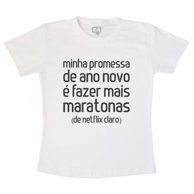 Camiseta Adulta Mais Maratonas