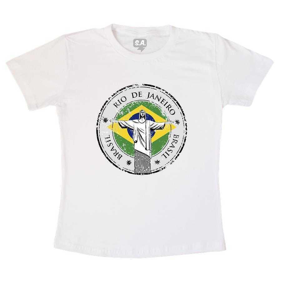 Camiseta Adulta Selo Brasil