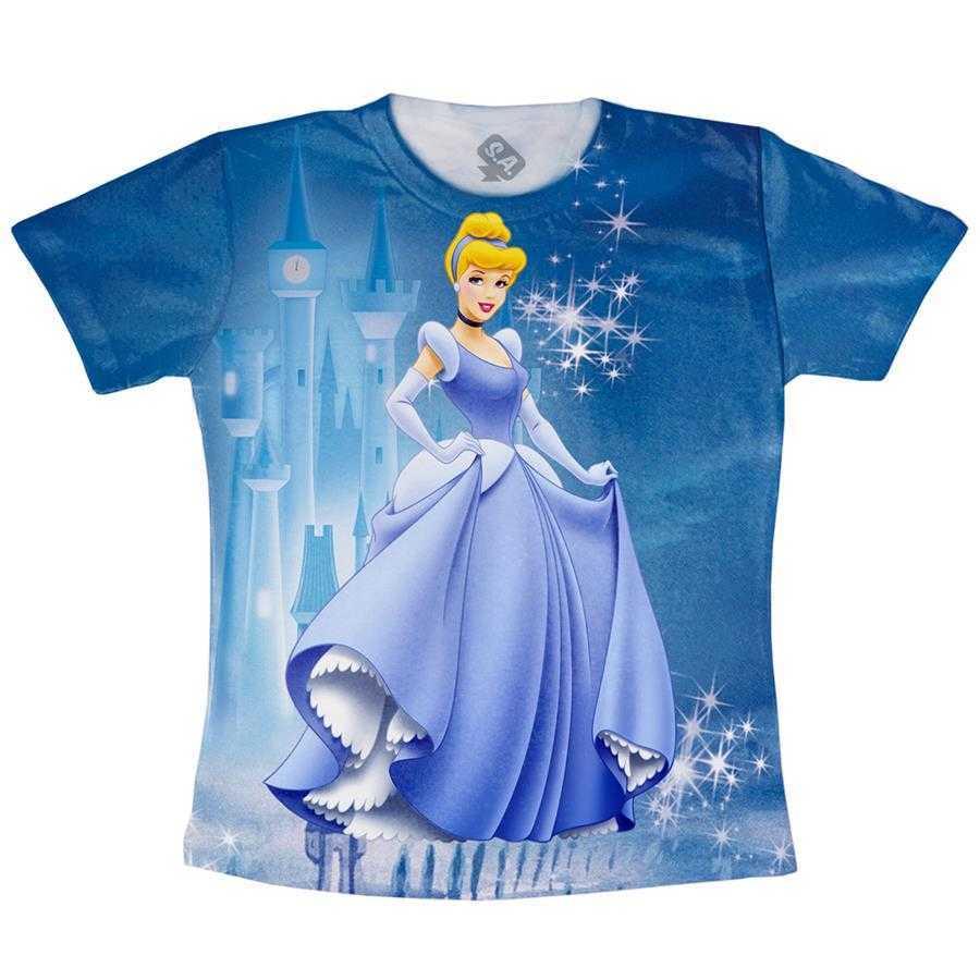 Camiseta Adulto - Cinderela na Camiseteria S.A. 5ff8490e233ed