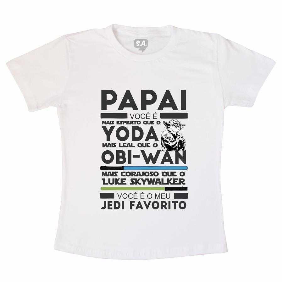 Camiseta Adulto - Jedi Favorito na Camiseteria S.A. ac84375f2ffe3