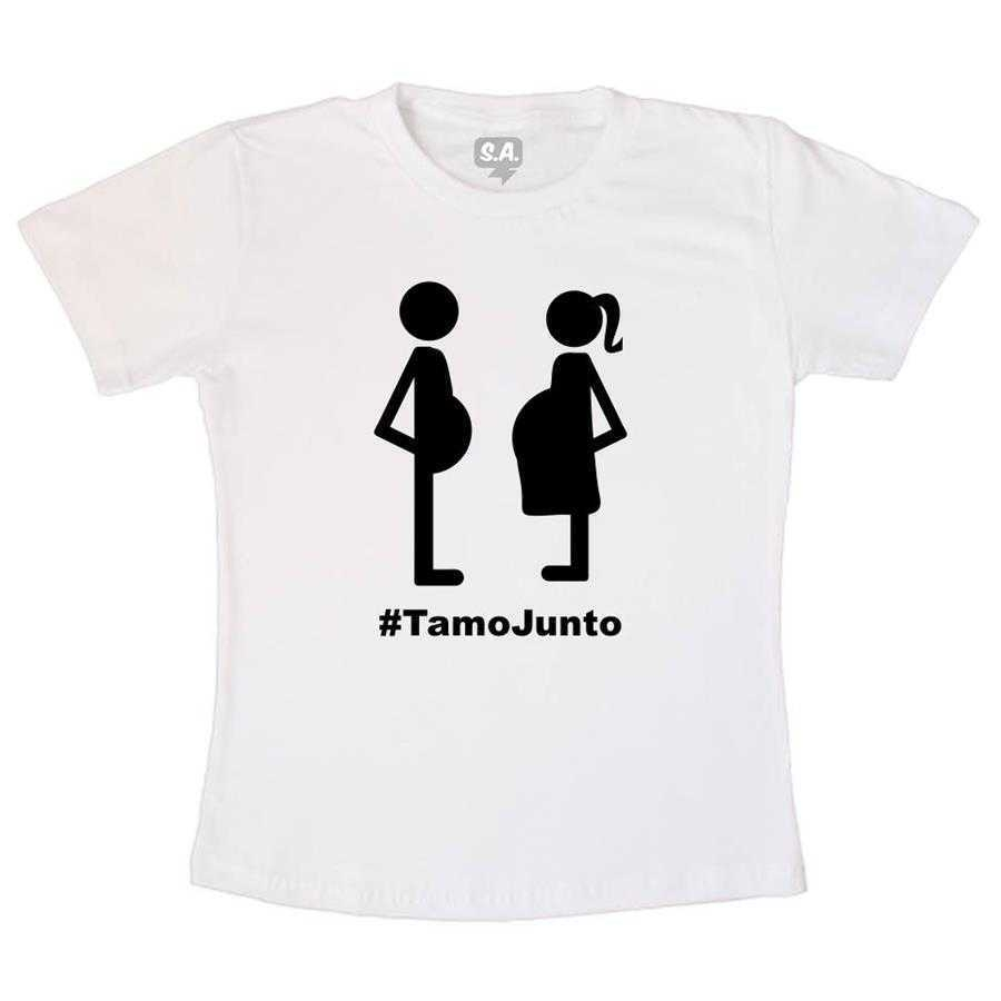 Camiseta Adulto - Tamo junto