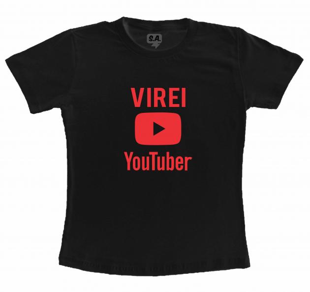 Camiseta Dia Dos Professores Virei YouTuber