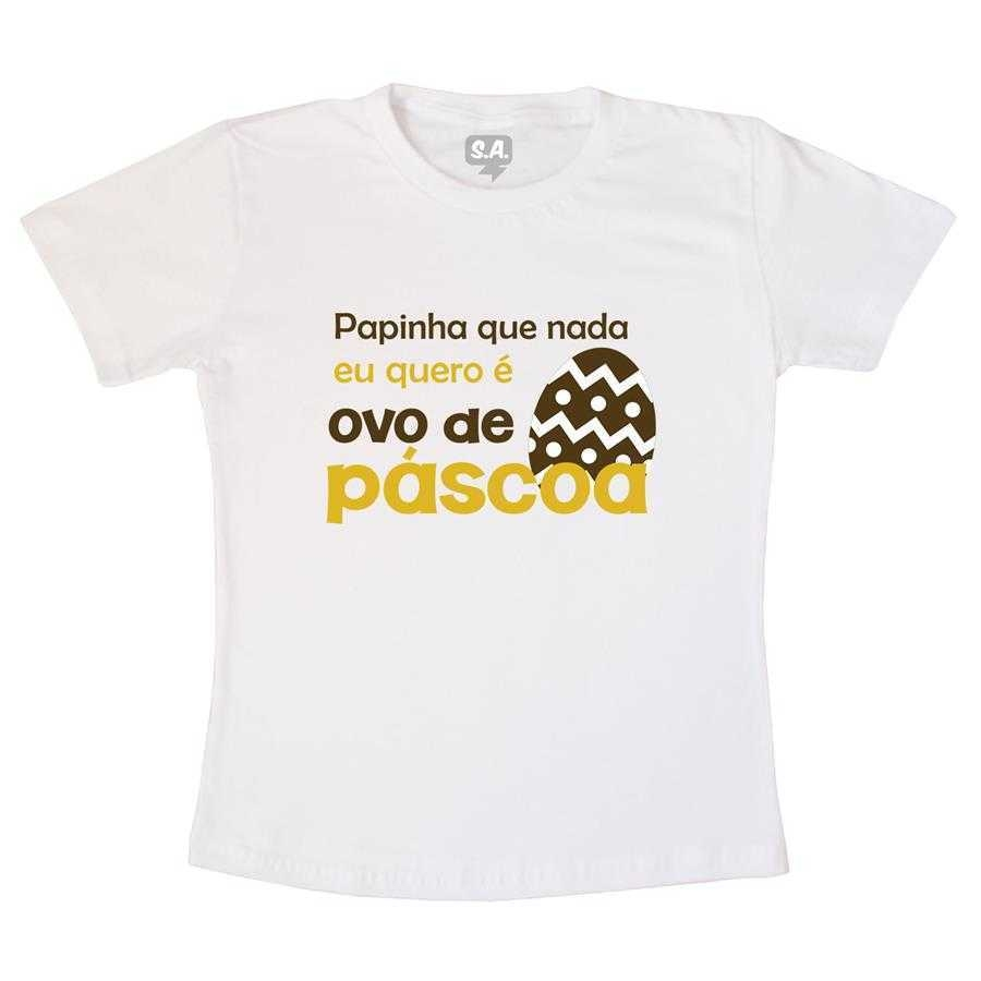 Camiseta Eu quero ovo de Páscoa