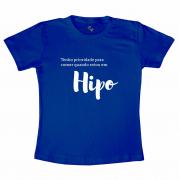 Camiseta Hipo - Azul