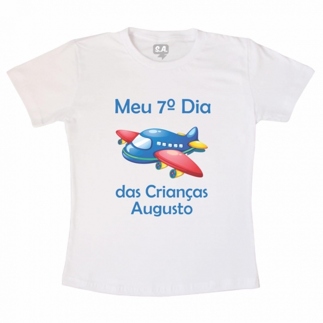 Camiseta Infantil - 7º dia das crianças