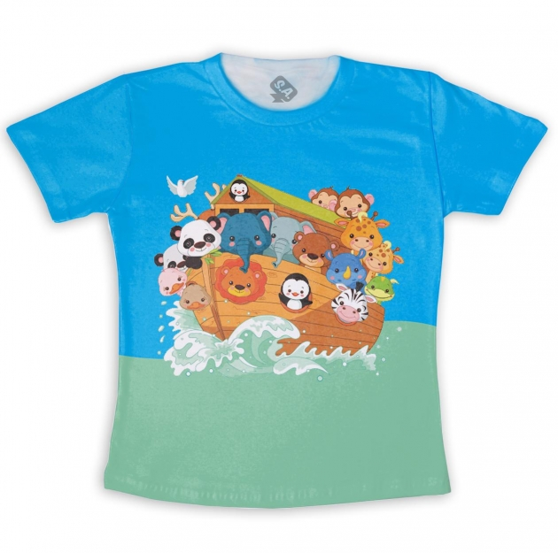 Camiseta Infantil Arca