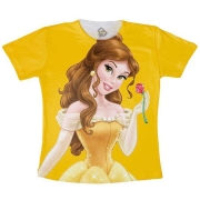 Camiseta Infantil - Bela