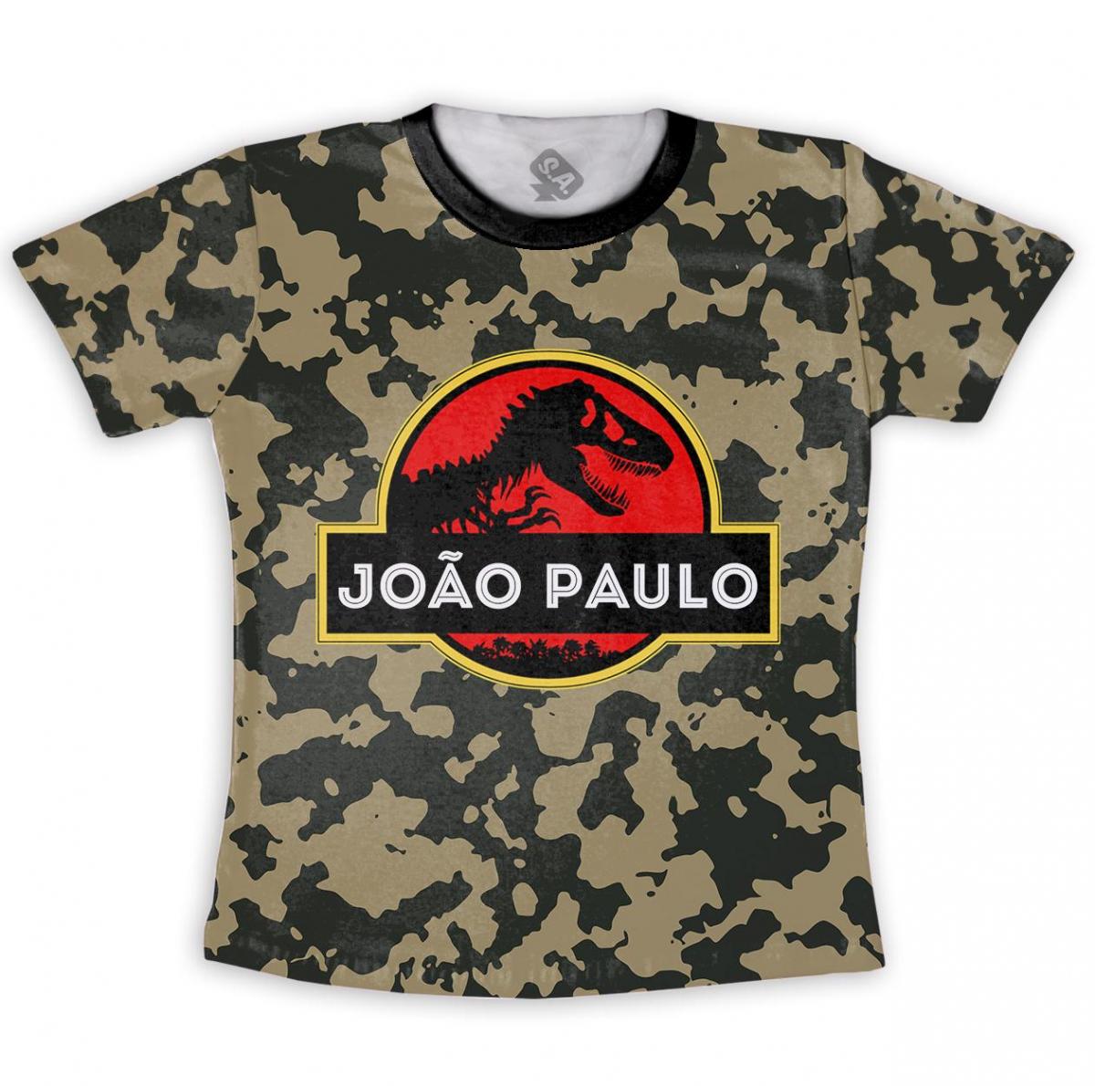 Camiseta Infantil - Camuflada