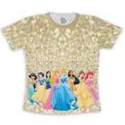 Camiseta Infantil Princesas