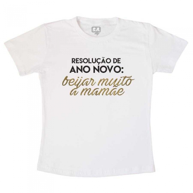 Camiseta Infantil - Resolução de Ano Novo