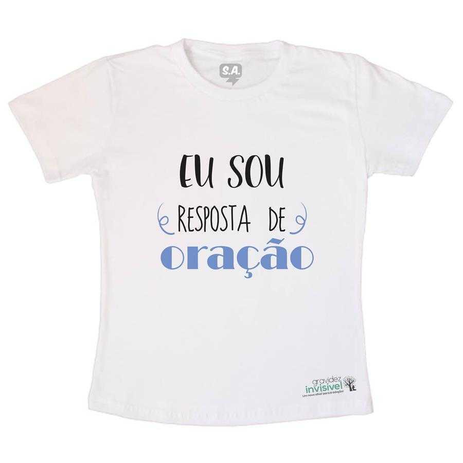 Camiseta Infantil Resposta de Oração