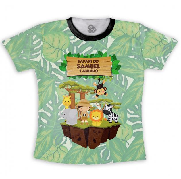 Camiseta Infantil Safari