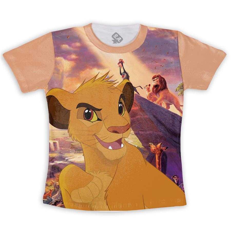 Camiseta Infantil Simba