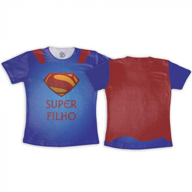 Camiseta infantil Super Filho