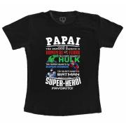 Camiseta Papai Meu Super Herói
