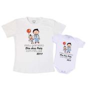 Camiseta Primeiro dia dos Pais com Meu Filho