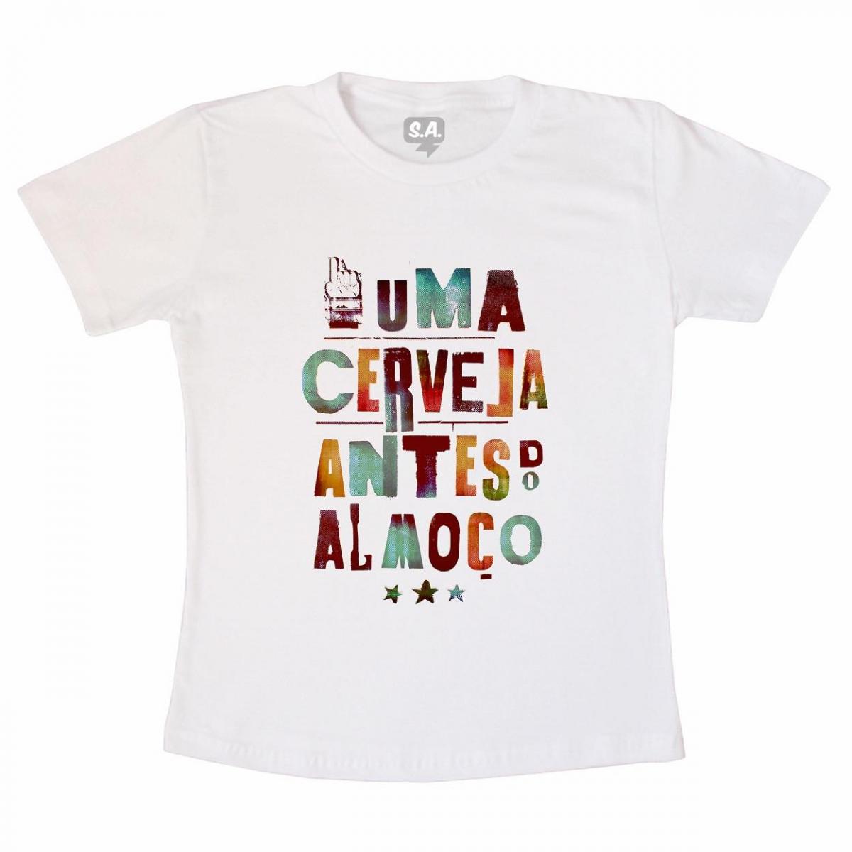 Camiseta Uma Cerveja na Camiseteria S.A. 02baf084ca8