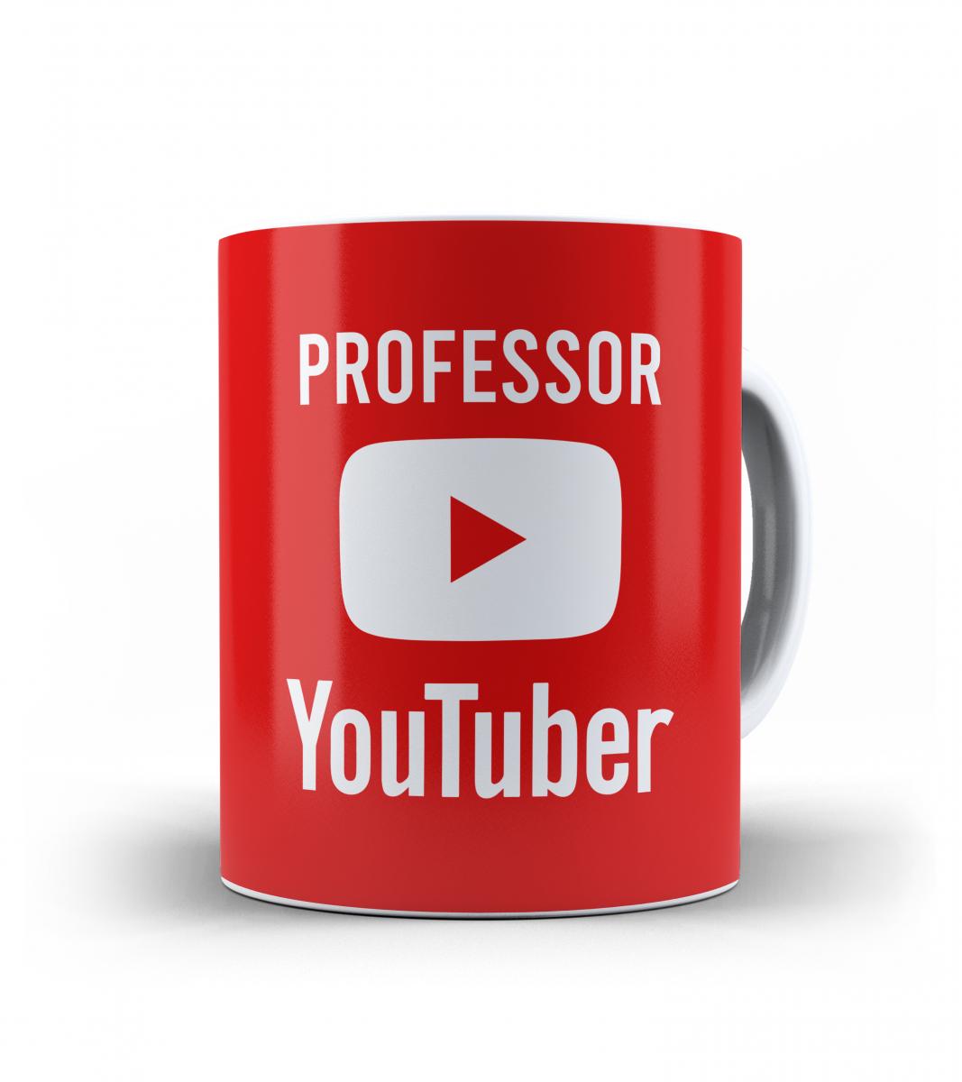 Caneca dia dos Professores - Professor Youtuber