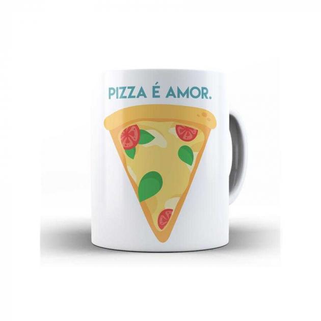 Caneca Pizza é Amor