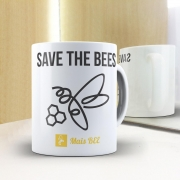 Caneca Save the Bees- Branca