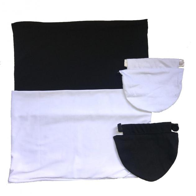 Kit - 2 Faixas e 2 Extensores de Calça Jeans Para Gestante