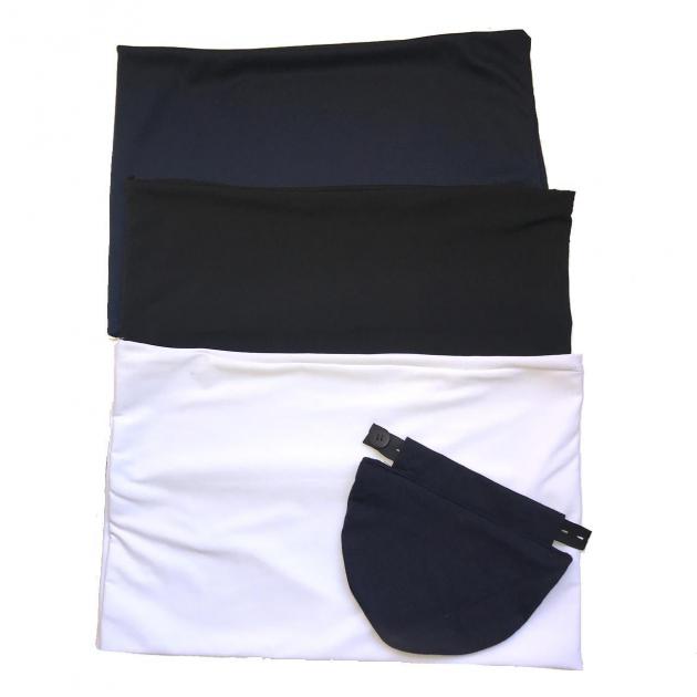 Kit - 3 Faixas e 1 Extensor de Calça Jeans Para Gestante