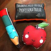 Kit almofadas professor