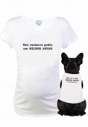 Kit Baby Long + Body Pet Melhor Amigo