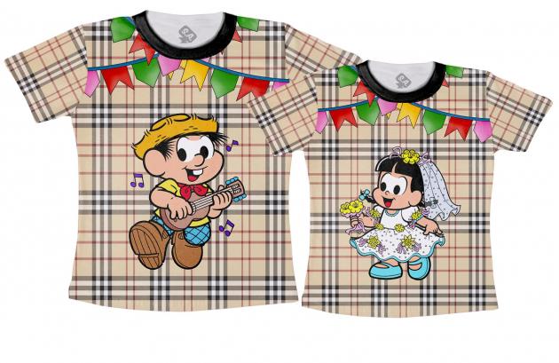 Kit Camisetas Casal - Junina