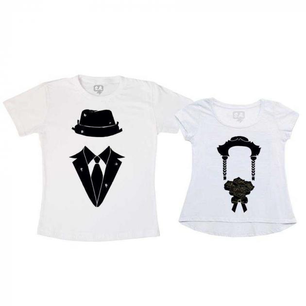 Kit Camisetas Casal Junino