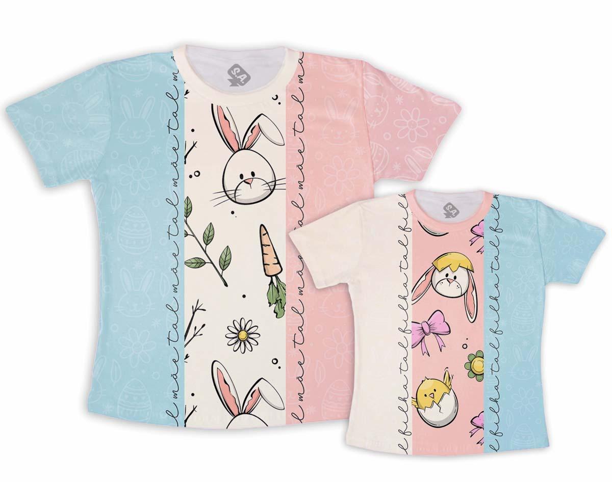 Kit Camisetas tal mãe tal filha