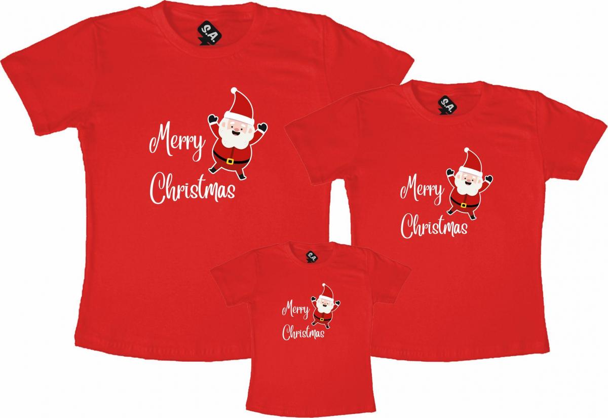 Kit Família Merry Christmas