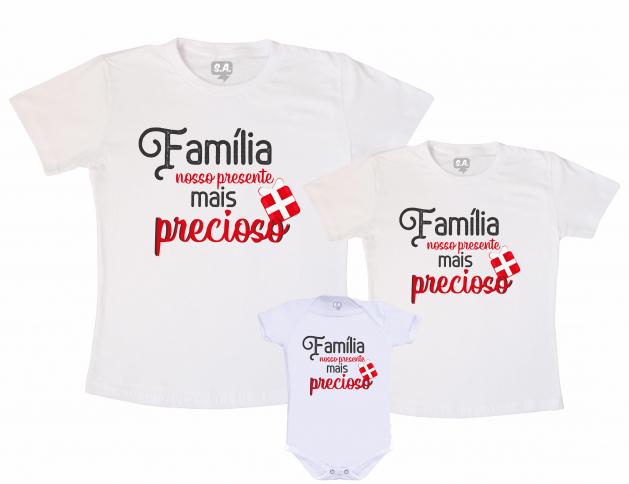 Kit Família Nosso Presente Mais Precioso