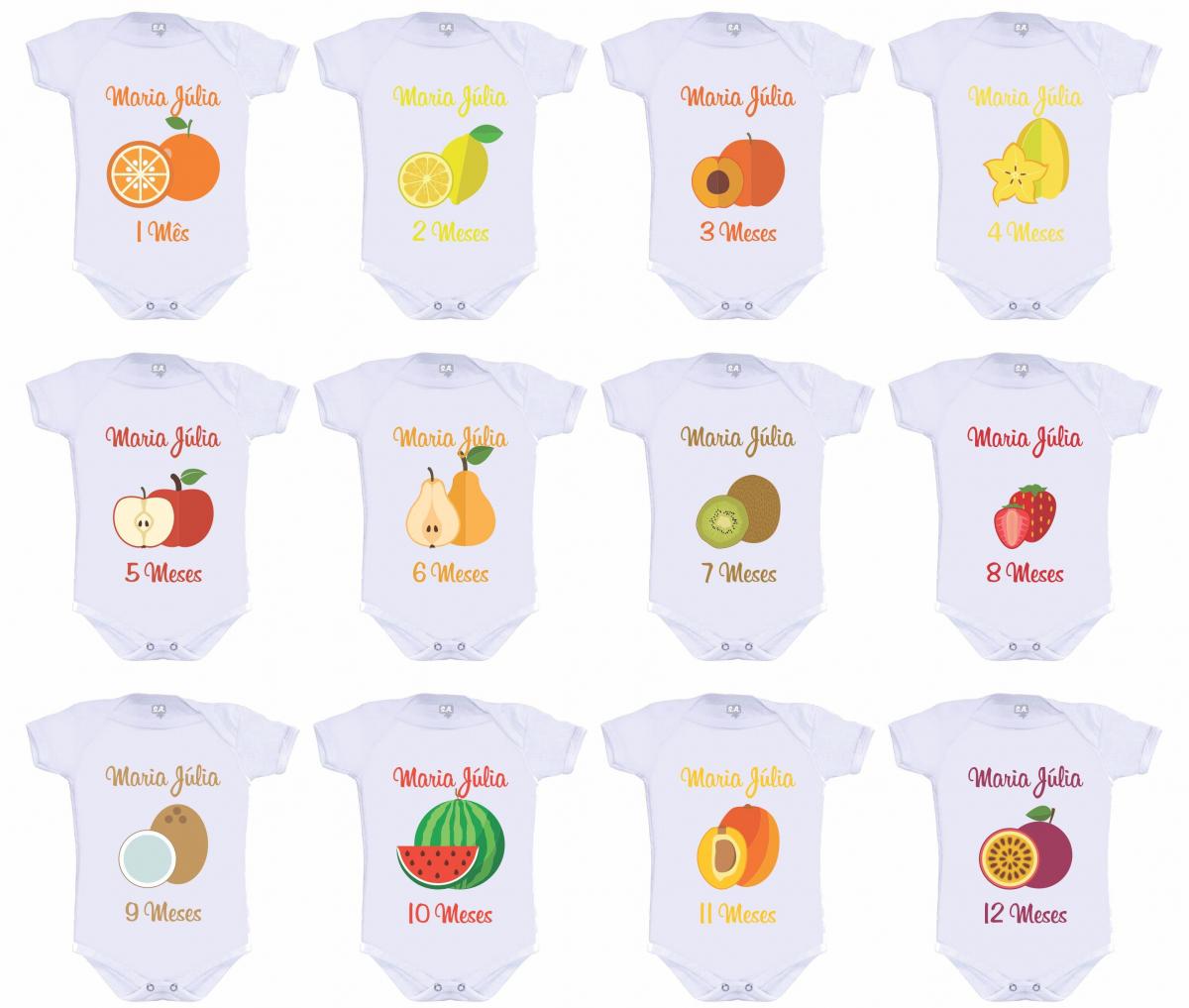 Kit Mesversário Frutas