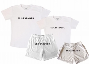 Kit Pijamas Casal  De Verão  Personalize